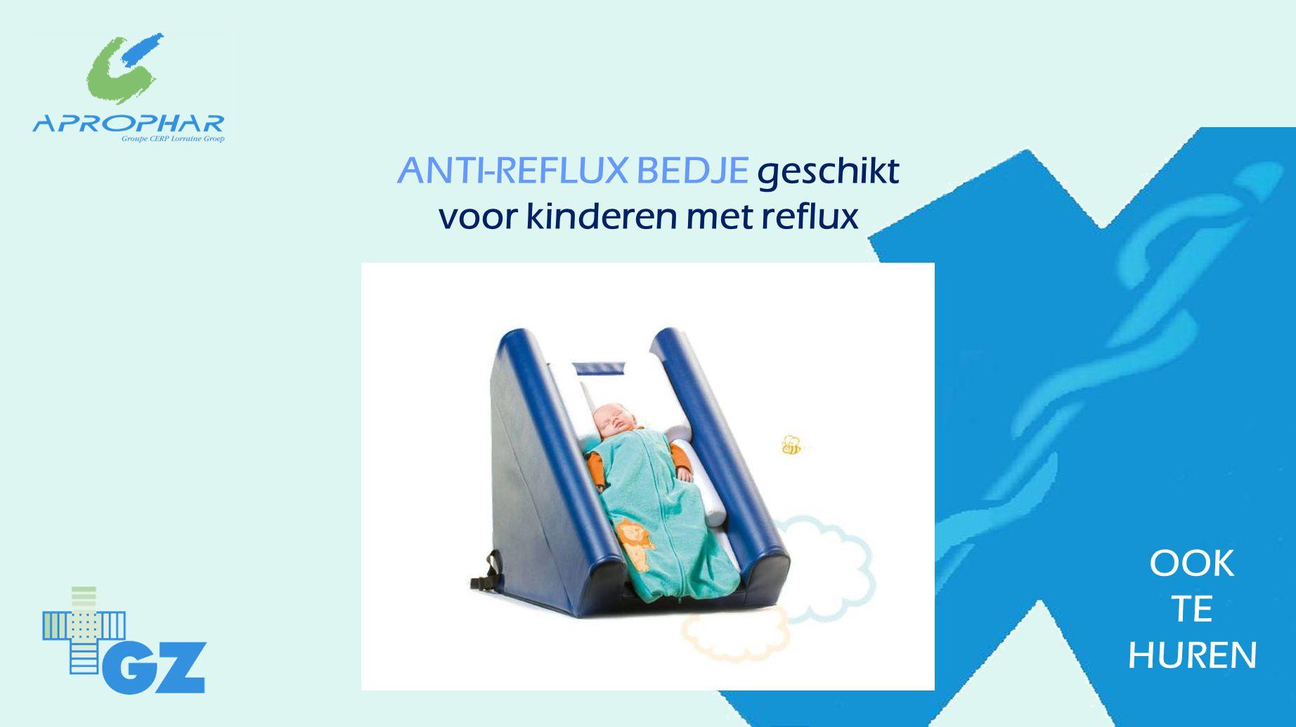 ANTI-REFLUX BEDJE geschikt voor kinderen met reflux OOK TE HUREN