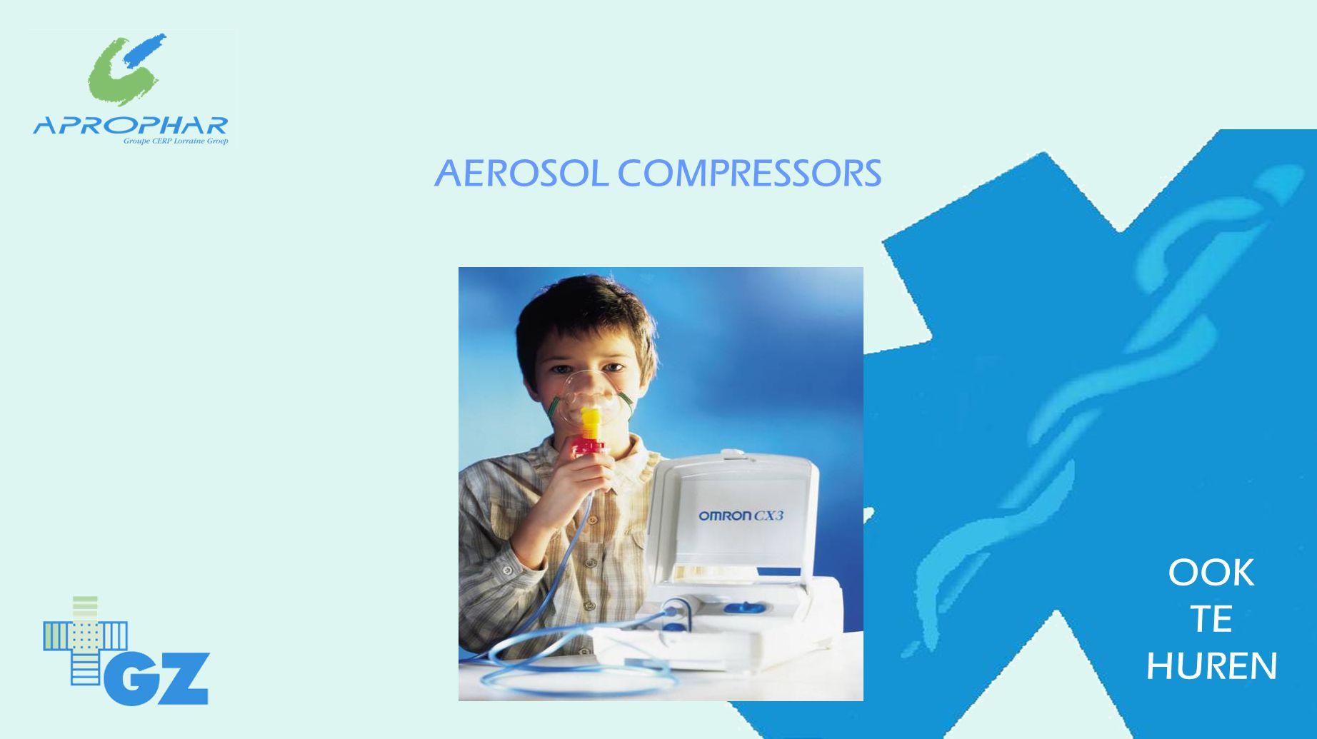 AEROSOL COMPRESSORS OOK TE HUREN