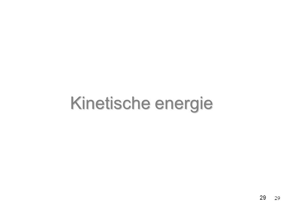 29 Kinetische energie 29
