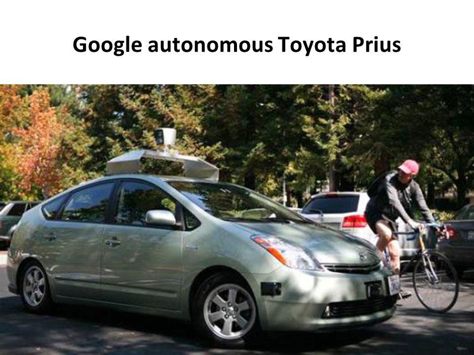 Google autonomous Toyota Prius