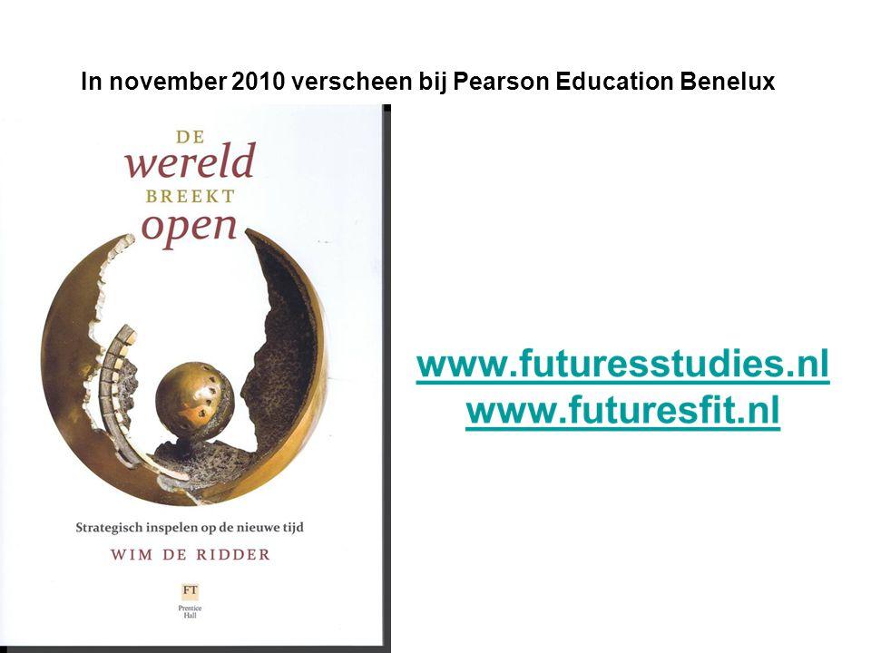 Wim de Ridder In november 2010 verscheen bij Pearson Education Benelux