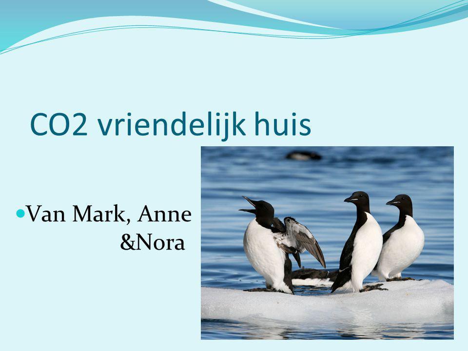 CO2 vriendelijk huis Van Mark, Anne. &Nora
