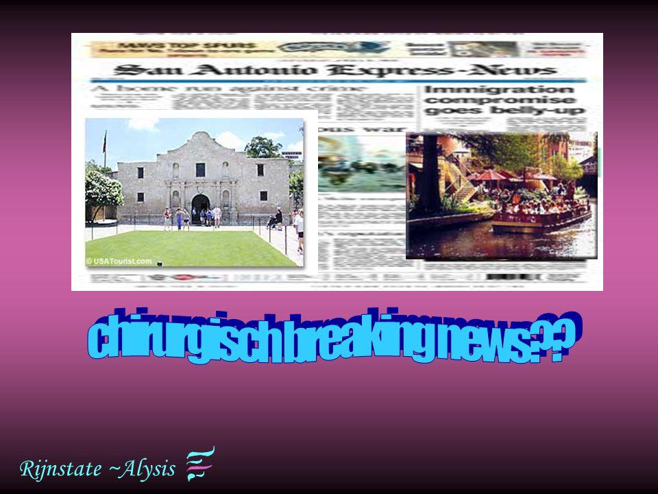 Rijnstate ~Alysis San Antonio