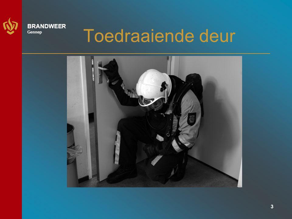 4 BRANDWEER Gennep Afdraaiende deur