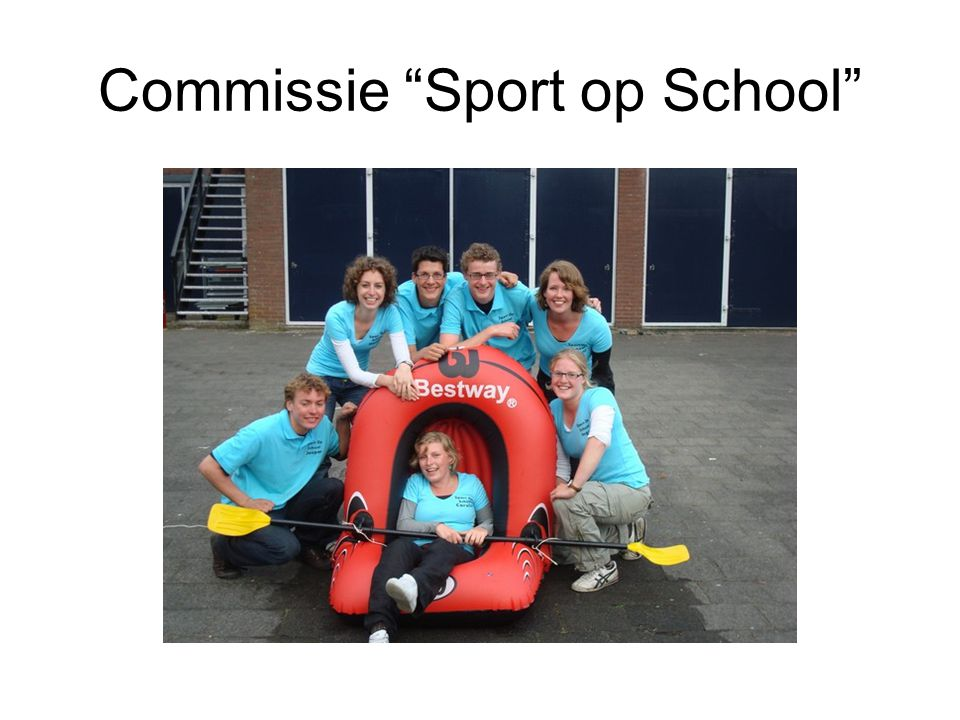 Commissie Sport op School