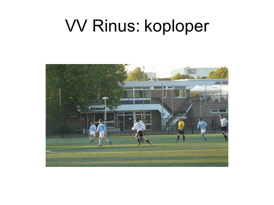 VV Rinus: koploper