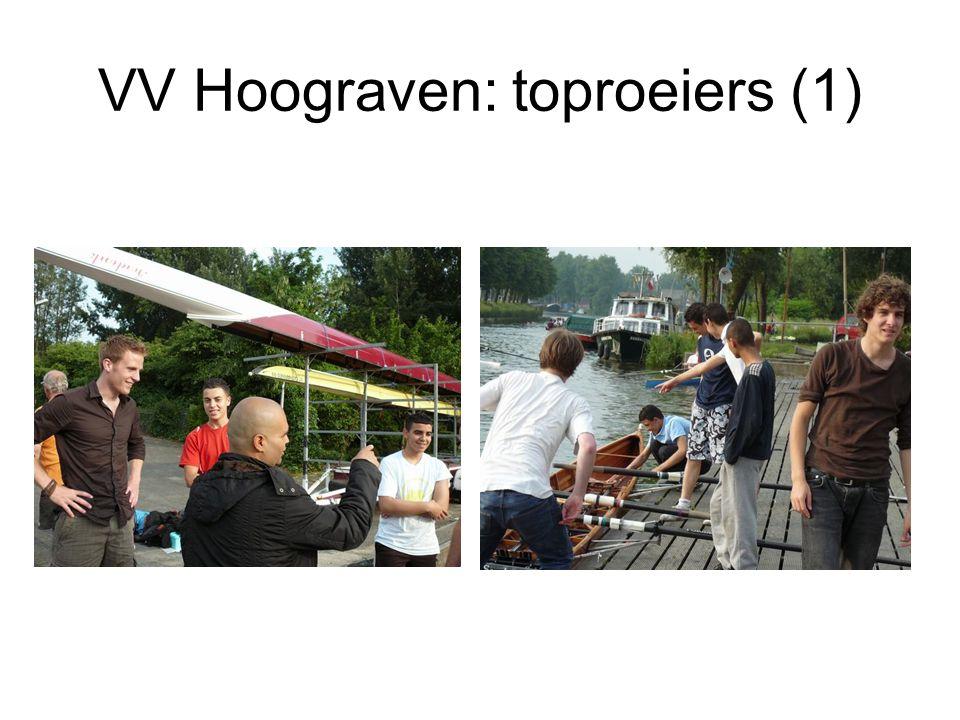VV Hoograven: toproeiers (1)