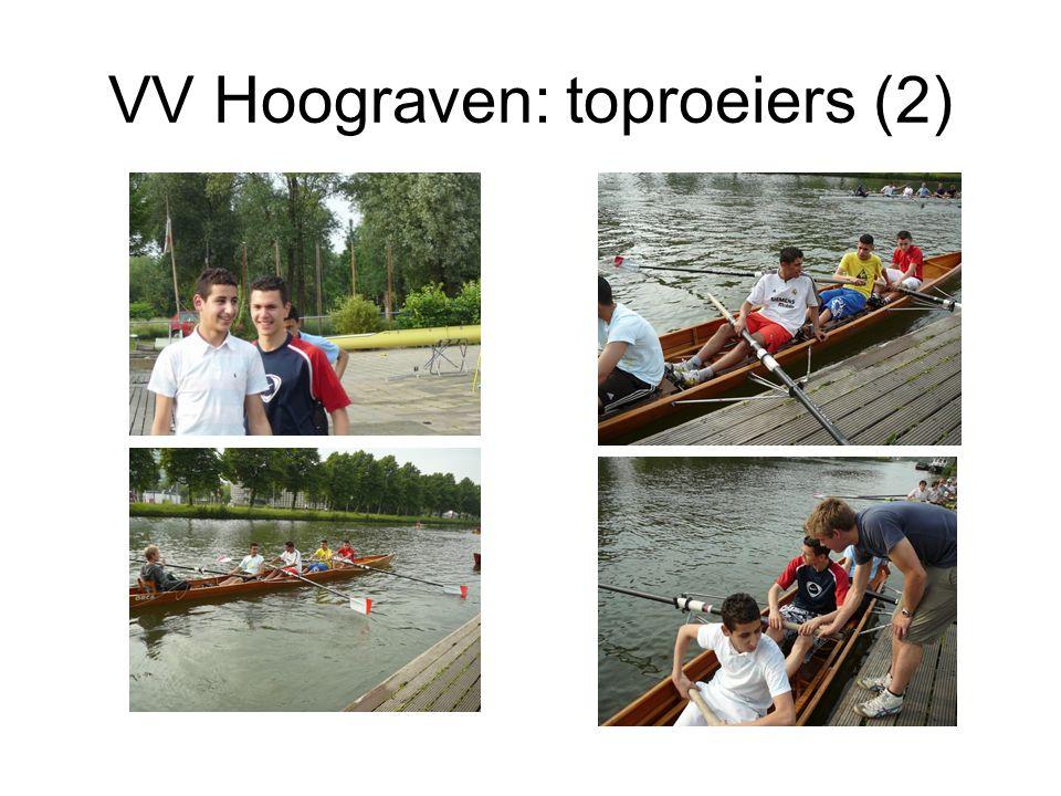 VV Hoograven: toproeiers (2)