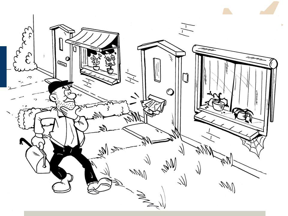 Preventiemaatregelen 1.Organisatorische maatregelen: Geven uw woning een bewoonde indruk Maken uw woning zichtbaar Laat uw materiaal niet rondslingere