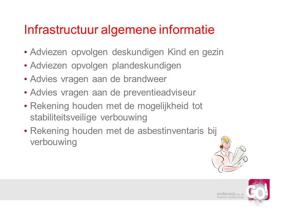 Infrastructuur preventie noodverlichting