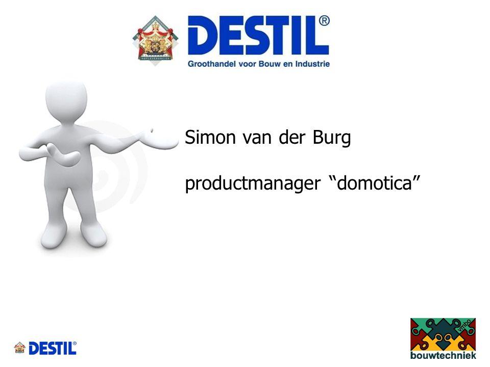 Simon van der Burg productmanager domotica