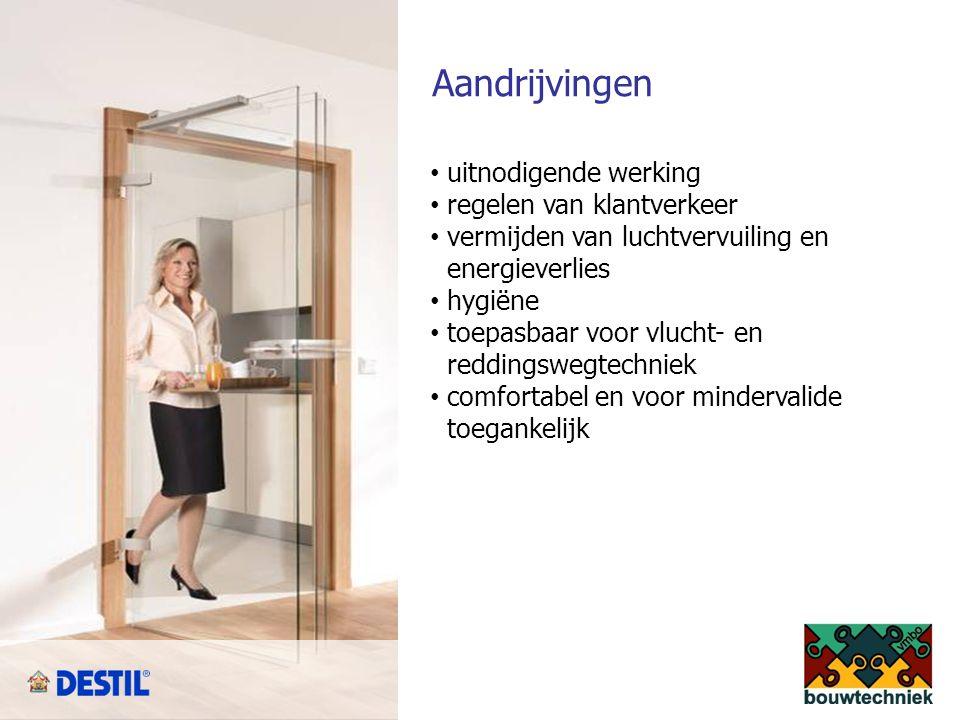 Deurtechniek vrijloopdeurdrangers inbouwdrangers EM opbouwdrangers EM vloerpotten EM Deze producten worden met name toegepast bij deursituaties in brandscheidingen vaak in combinatie met vluchtwegen.