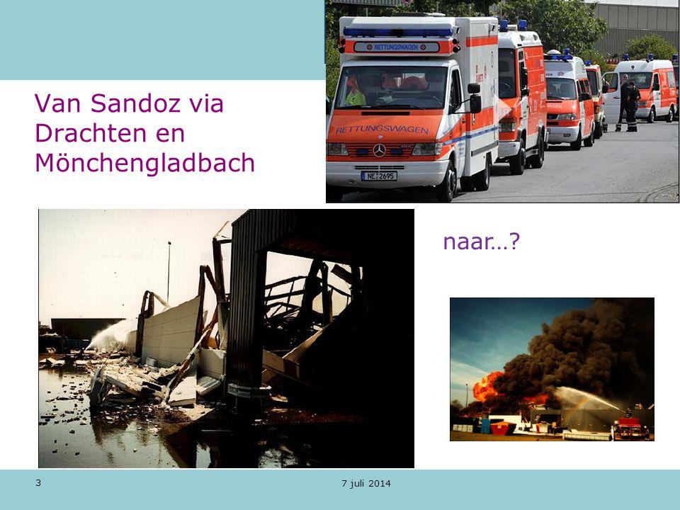 3 7 juli 2014 Van Sandoz via Drachten en Mönchengladbach naar…?