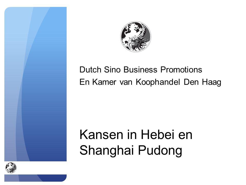 Kansen in Hebei en Shanghai Pudong Dutch Sino Business Promotions En Kamer van Koophandel Den Haag