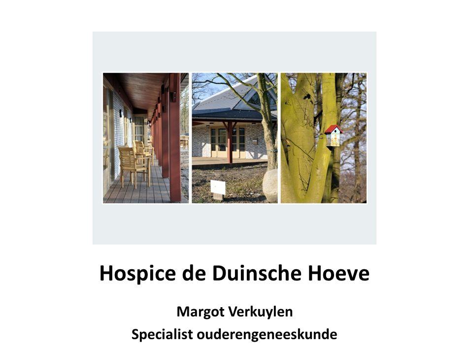 Hospice de Duinsche Hoeve Margot Verkuylen Specialist ouderengeneeskunde
