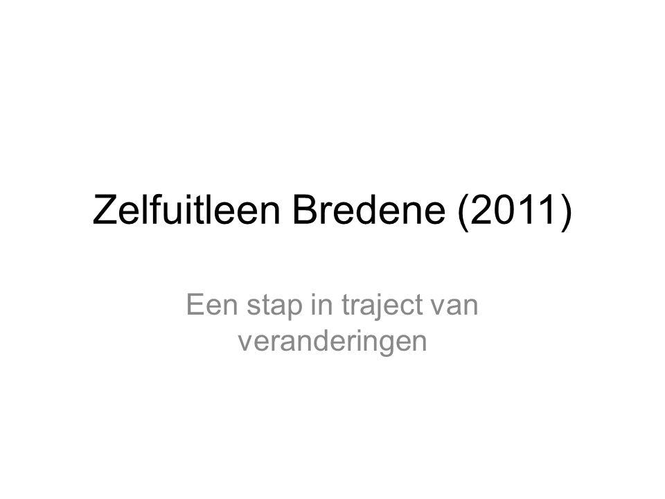 Zelfuitleen Bredene (2011) Een stap in traject van veranderingen