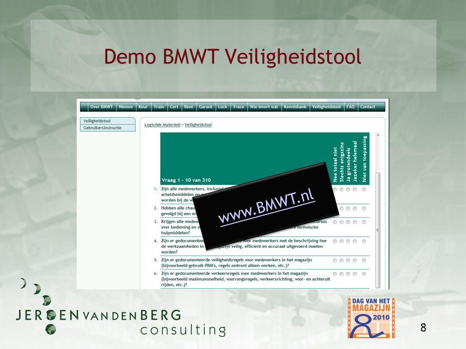 Demo BMWT Veiligheidstool 8 www.BMWT.nl