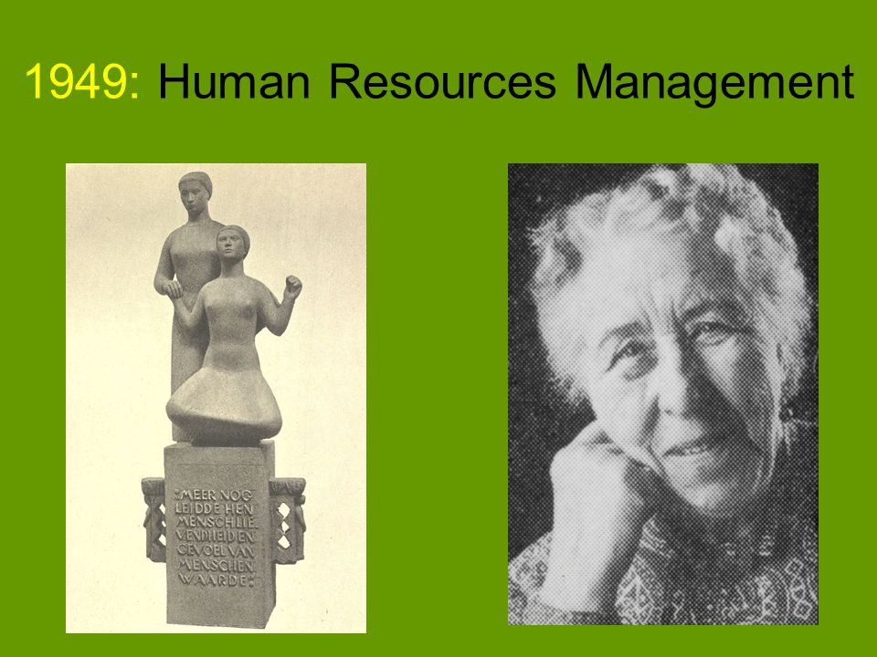 1949: Human Resources Management