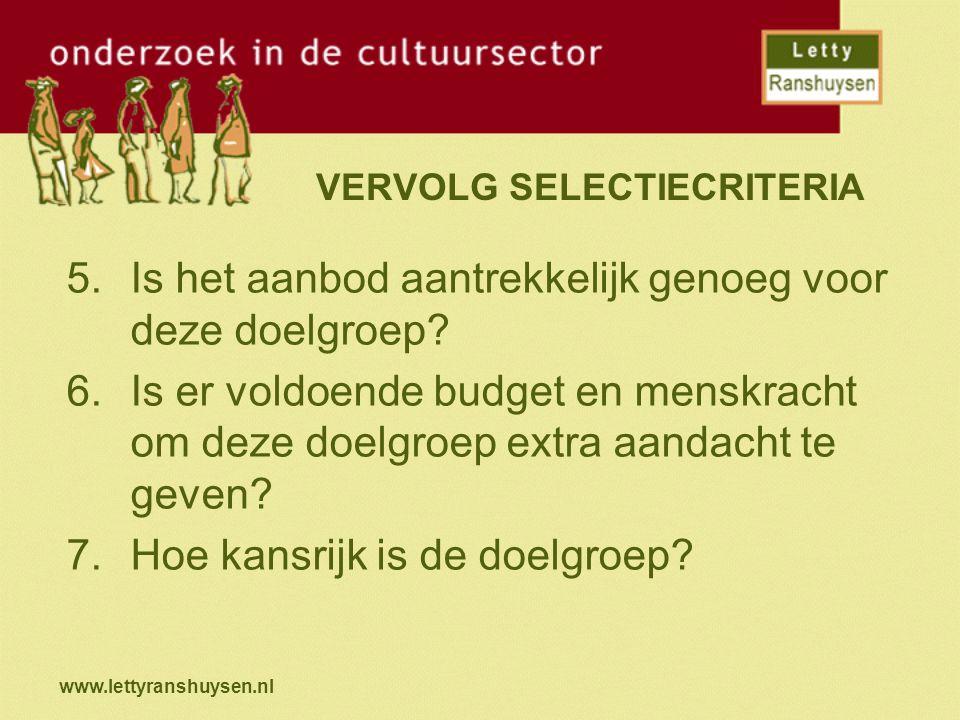 www.lettyranshuysen.nl 2 SPOREN Makkelijke doelgroepen: -reeds geïnteresseerd -kans op extra inkomsten Moeilijke doelgroepen -ervaren veel drempels -kosten extra investeringen