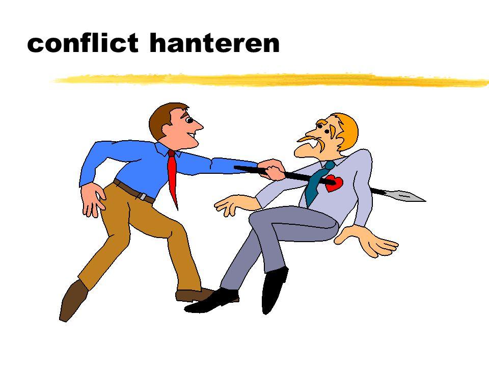 conflict hanteren