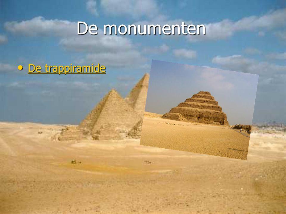 De monumenten D D eeee t t t t rrrr aaaa pppp pppp iiii rrrr aaaa mmmm iiii dddd eeee