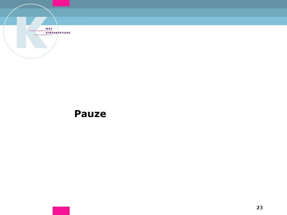 23 Pauze