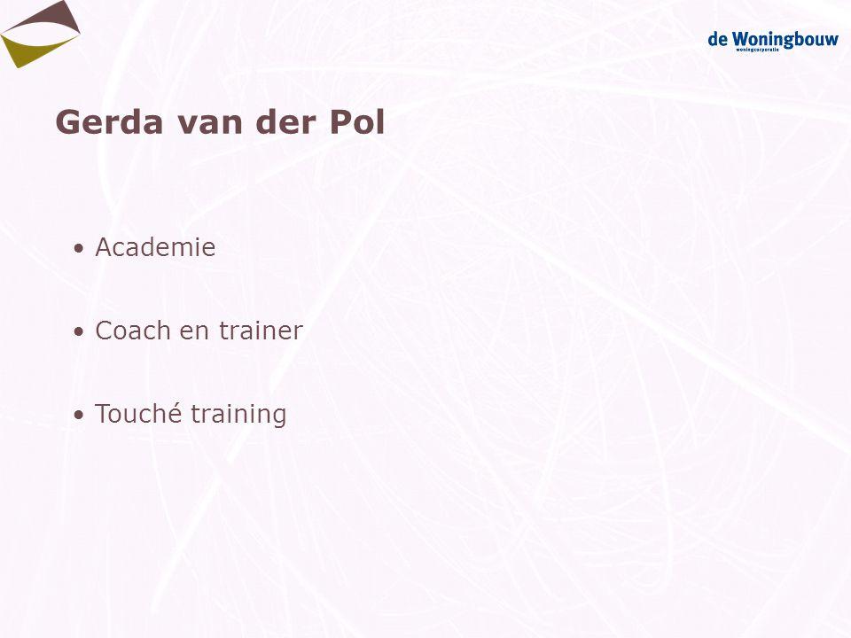 Gerda van der Pol Academie Coach en trainer Touché training
