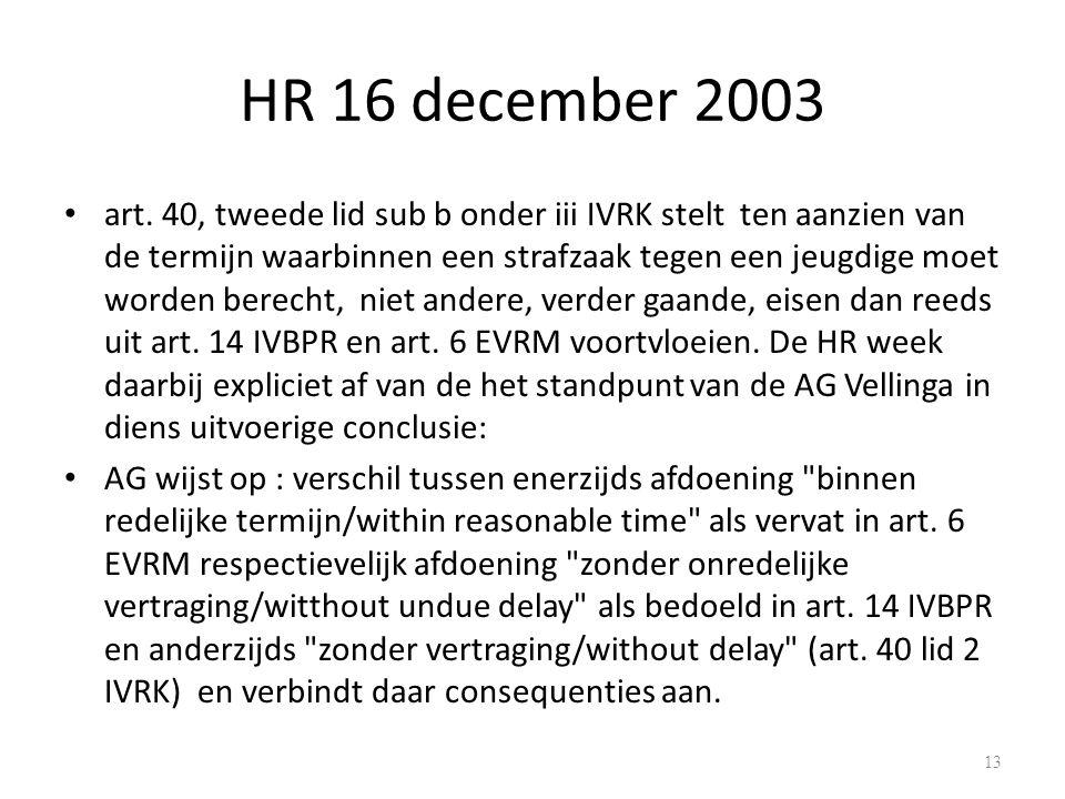 HR 16 december 2003 art.