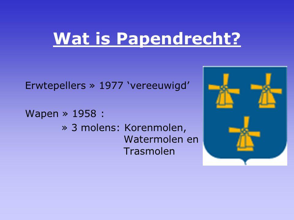Wanneer is Papendrecht ontstaan.