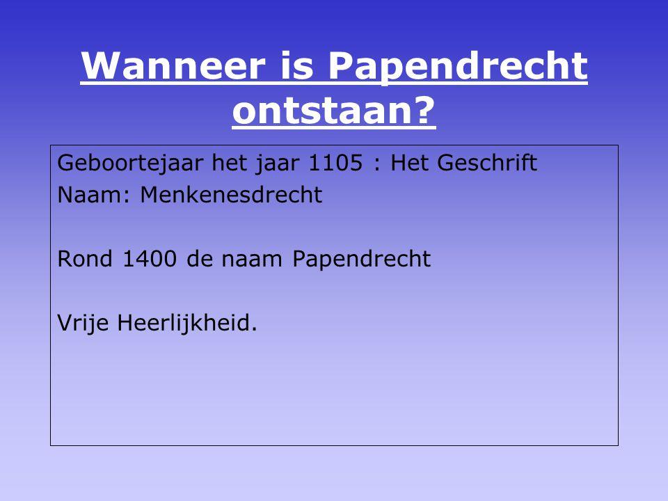 Hoe is Papendrecht ontstaan? Papendrechters » Erwtepellers 1977 » Ertepeller
