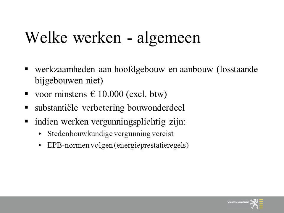 Waar aanvragen Wonen-Vlaanderen  Antwerpen:Lange Kievitstraat 111-113 bus 54, 2018 Antwerpen Tot 11 mei: Copernicuslaan 1, 2018 ANTWERPEN  Limburg: Koningin Astridlaan 50 bus 1, 3500 HASSELT  Oost-Vlaanderen: Gebroeders Van Eyckstraat 2-4-6, 9000 GENT  Vlaams-Brabant: Blijde Inkomststraat 103-105, 3000 LEUVEN  West-Vlaanderen: Werkhuisstraat 9, 8000 BRUGGE