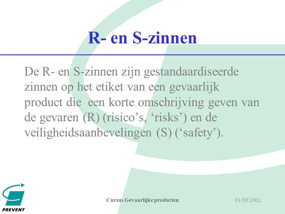 01/08/2002Cursus Gevaarlijke producten grenswaarde De grenswaarde voor beroepsmatige blootstelling is de maximale concentratie van een chemisch agens, als tijdgewogen gemiddelde over een referentieperiode, waarboven geen enkele werknemer mag worden blootgesteld.