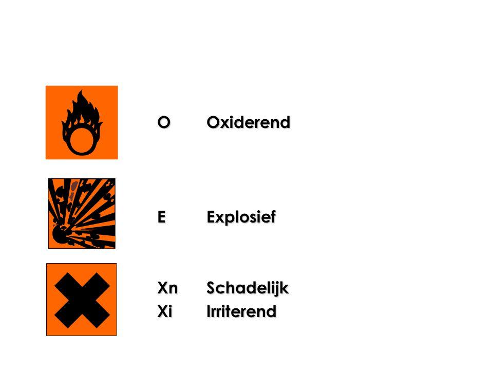 FLicht ontvlambaar F+Zeer licht ontvlambaar TGiftig T+Zeer giftig CCorrosief