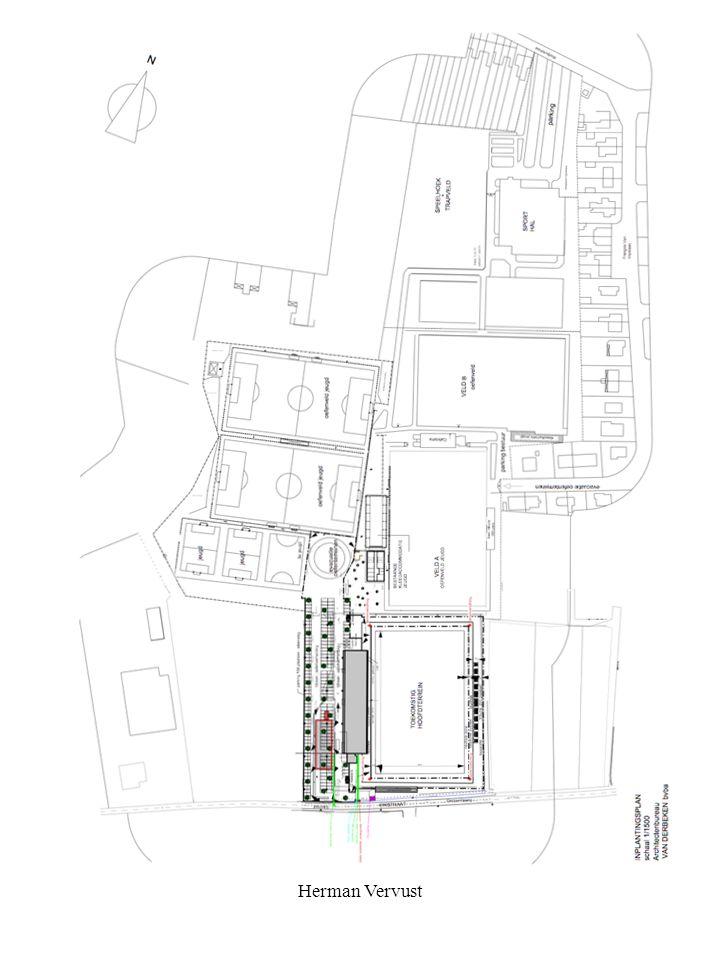 Herman Vervust Luc Coene beloofde een plattegrond van de club