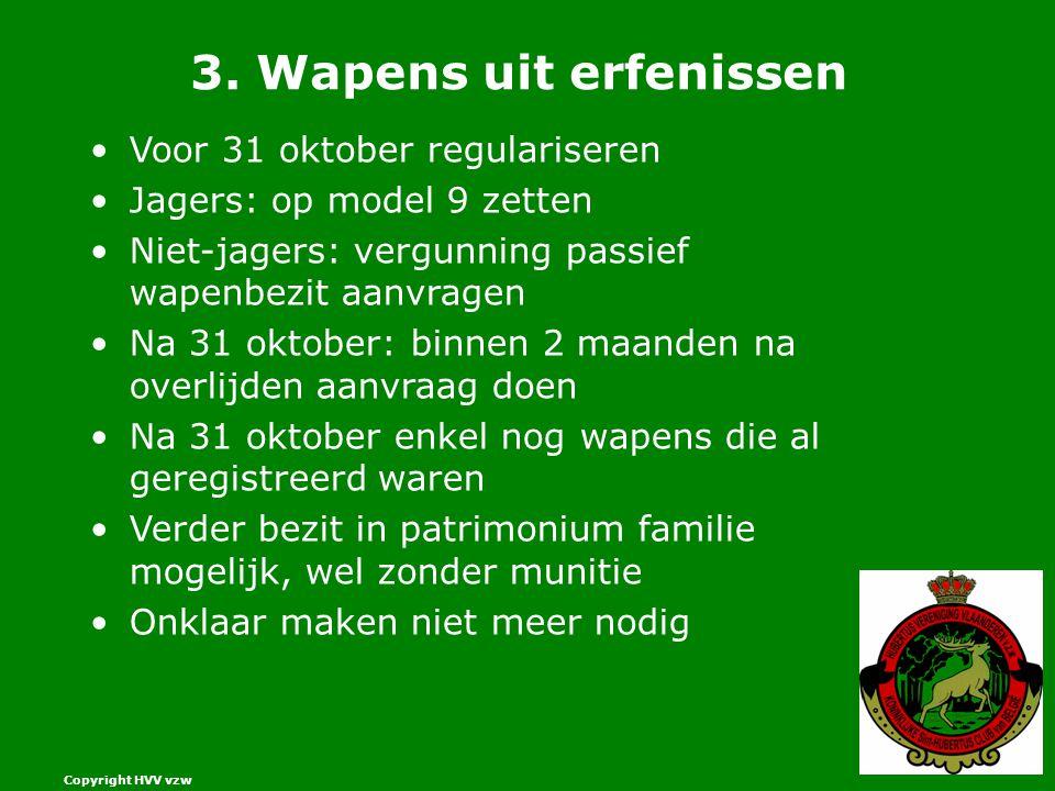 Copyright HVV vzw 3.