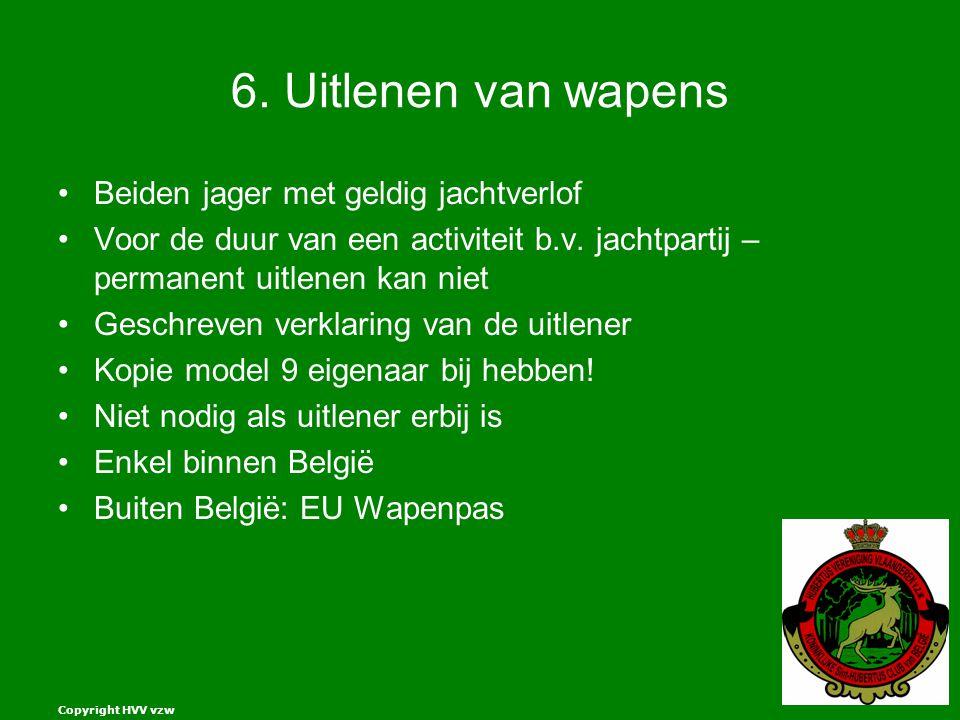 Copyright HVV vzw 6.