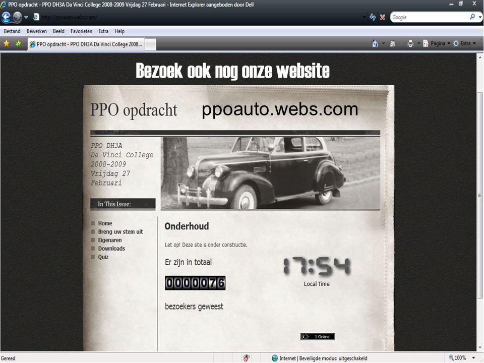 Het complete interview Staat op onze site : ppoauto.webs.com !!!!!!!!!!!!!!!!!!!!!!!!!!!!!!!!!!!! !!!!