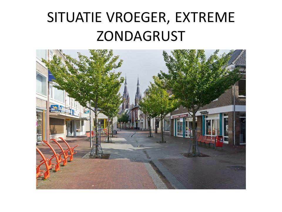 SITUATIE VROEGER, EXTREME ZONDAGRUST