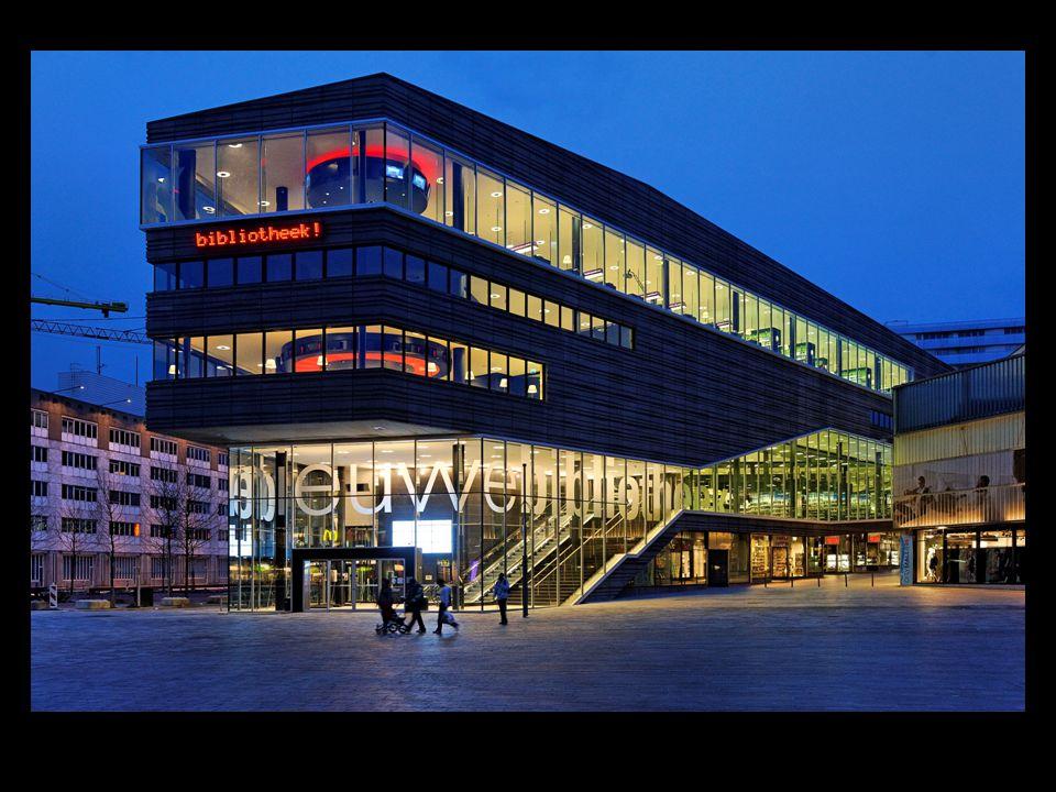 denieuwebibliotheek De bibliotheek als winkel Klantgerichtheid Openstelling Faciliteiten Programmering Gaming Locatie, architectuur en interieur.