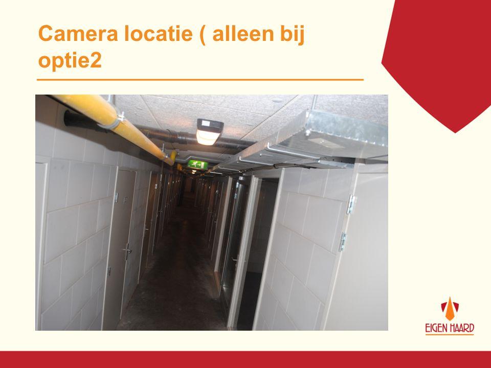 Camera locatie ( alleen bij optie2