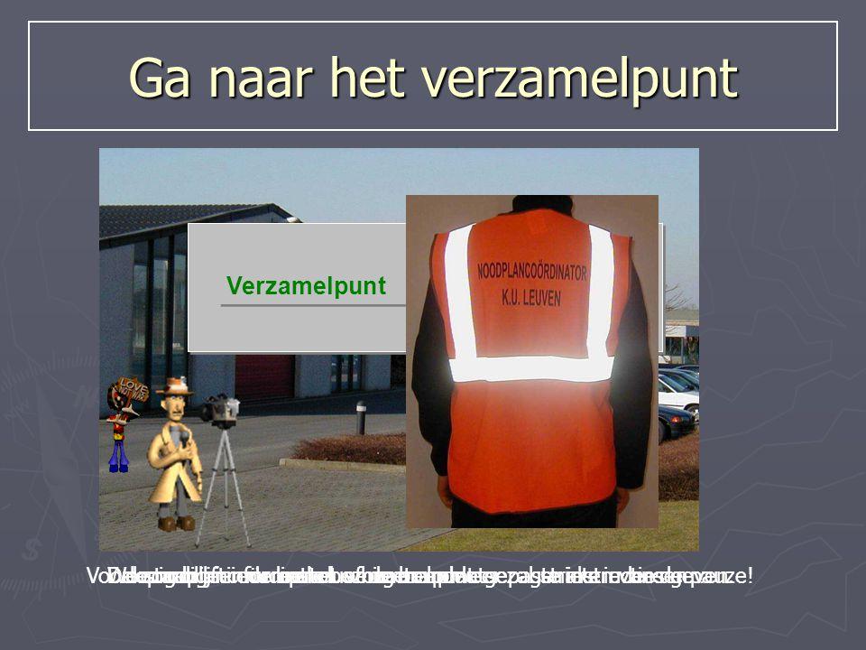…Toch handig als iedereen weet wat te doen bij een evacuatie…Dus als je een AANHOUDEND alarmsignaal hoort : Created by Koen De Backer Preventiedienst K.U.Leuven