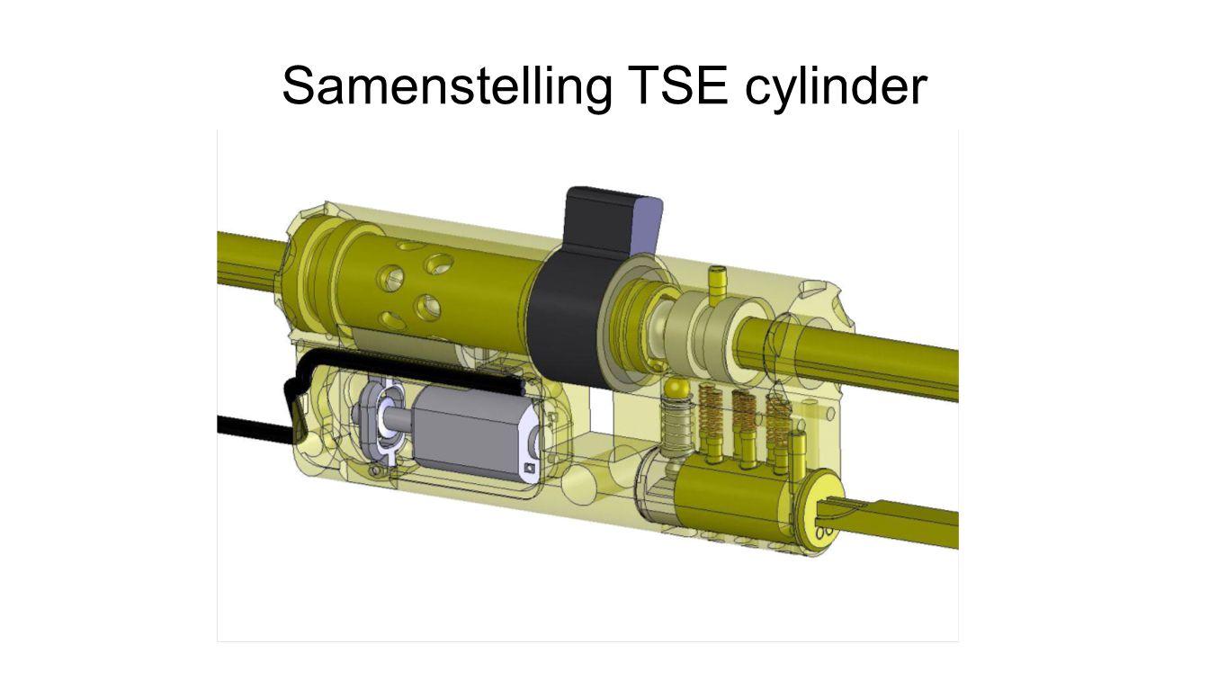 Samenstelling TSE cylinder