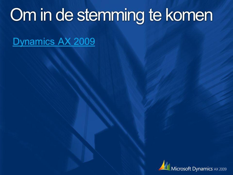 Open deuren… Wat vind je van AX2009.