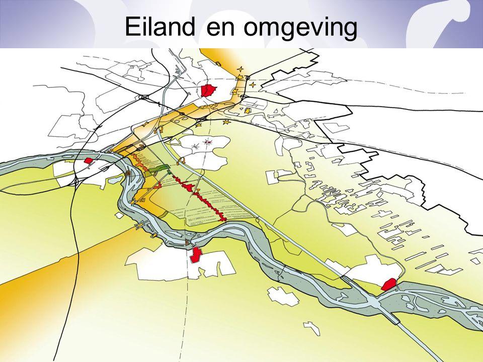 Eiland en omgeving