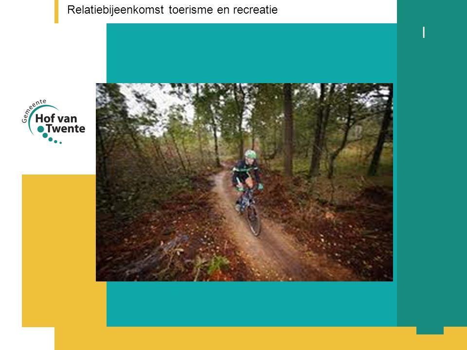 titel presentatie l Relatiebijeenkomst toerisme en recreatie