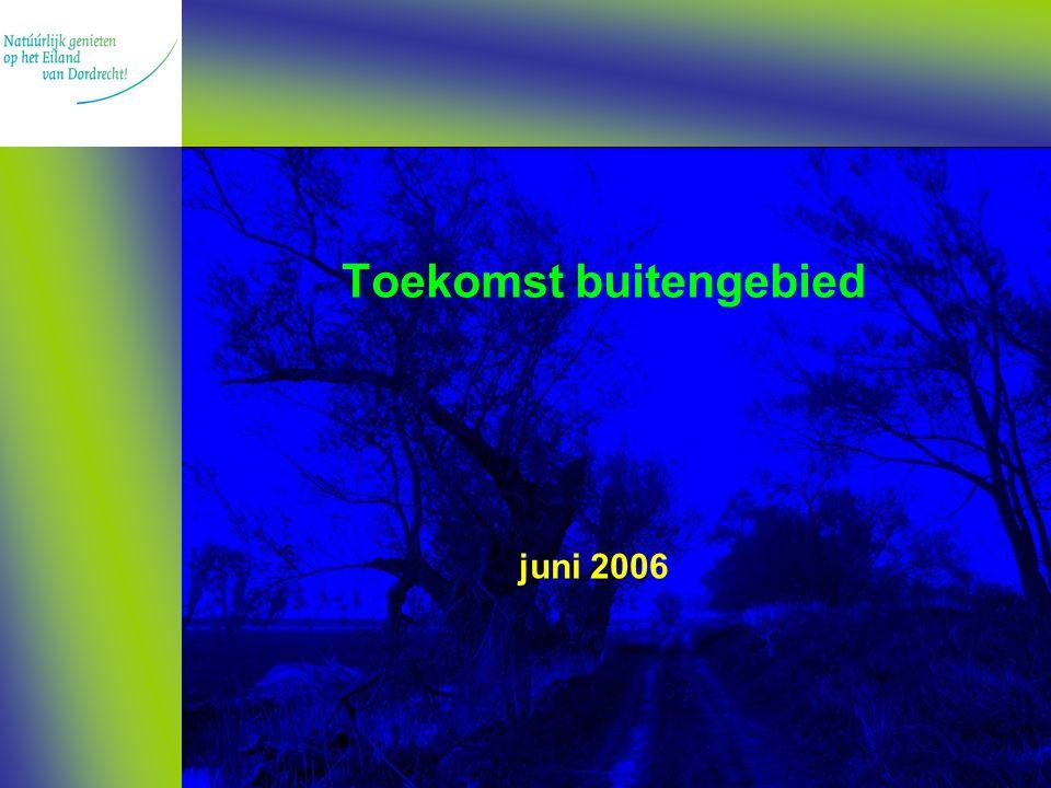 Toekomst buitengebied juni 2006