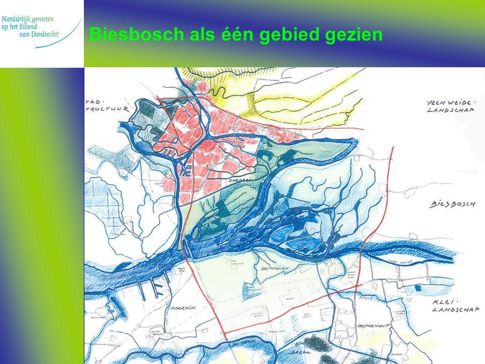 Biesbosch als één gebied gezien