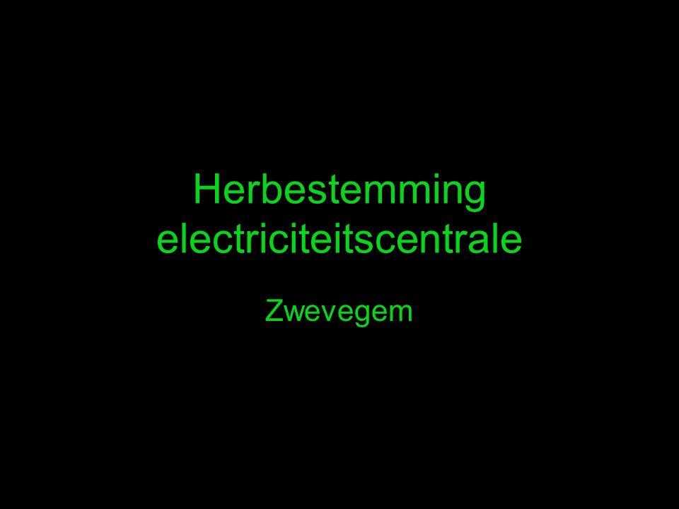 Herbestemming electriciteitscentrale Zwevegem