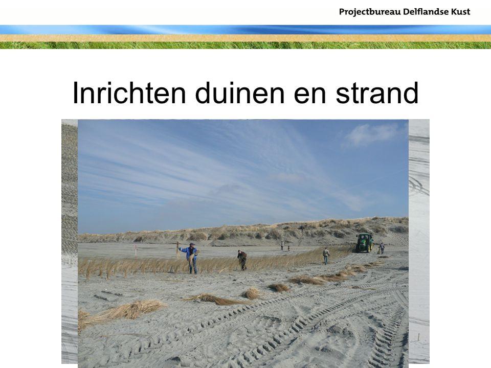 Inrichten duinen en strand