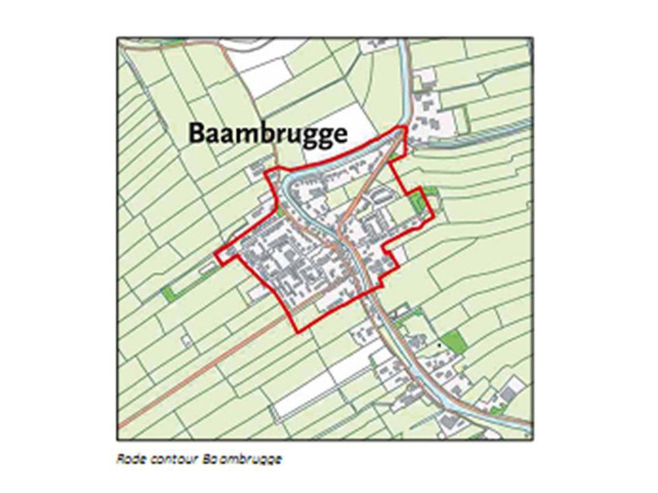 Reactie kadernota: Stelling 2 Baambrugge zou niet meer moeten bouwen, omdat het een rustig dorp is.